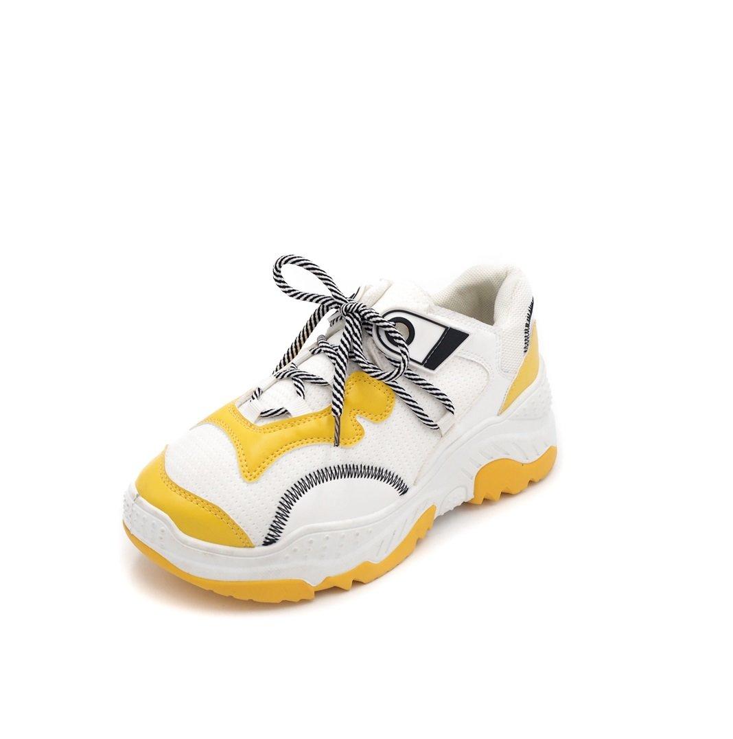 Жълти маратонки на висока подметка BILLY