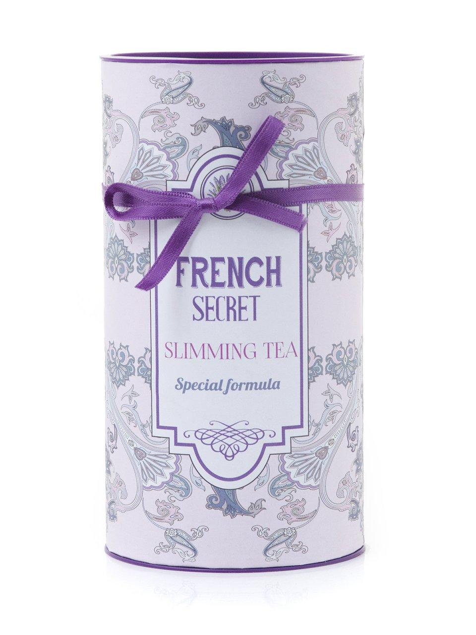 2 ПАКЕТА FRENCH SECRET TEA SLIMMING (120 БР) + БУРКАН