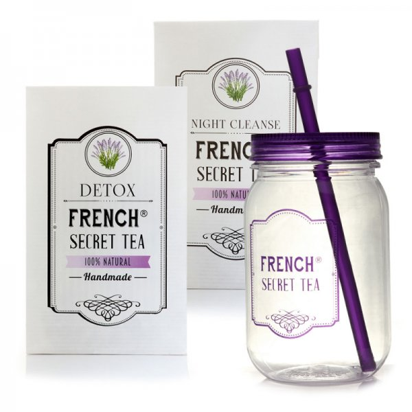 КОМПЛЕКТ FRENCH SECRET TEA DETOX + NIGHT CLEANSE + БУРКАН