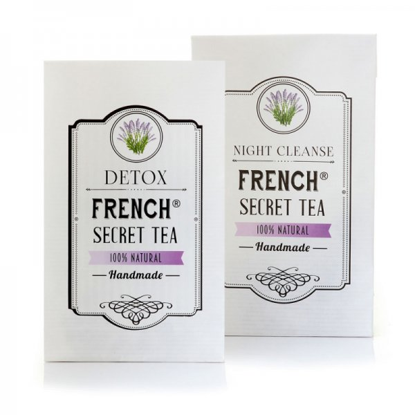КОМПЛЕКТ FRENCH SECRET TEA DETOX + NIGHT CLEANSE
