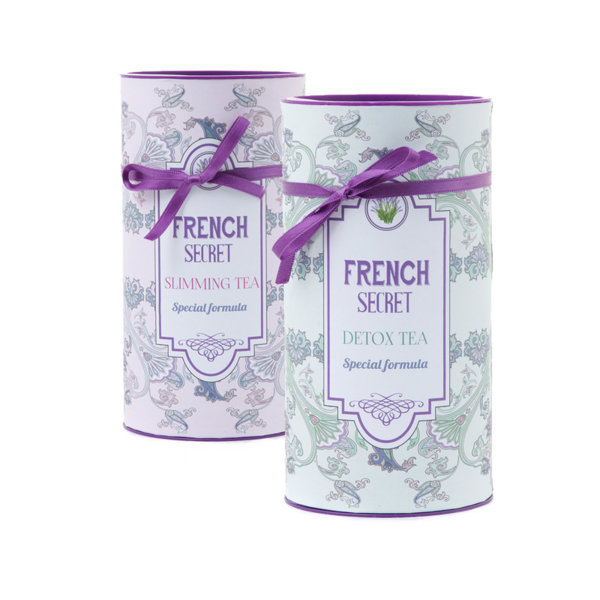 КОМПЛЕКТ FRENCH SECRET TEA DETOX + SLIMMING