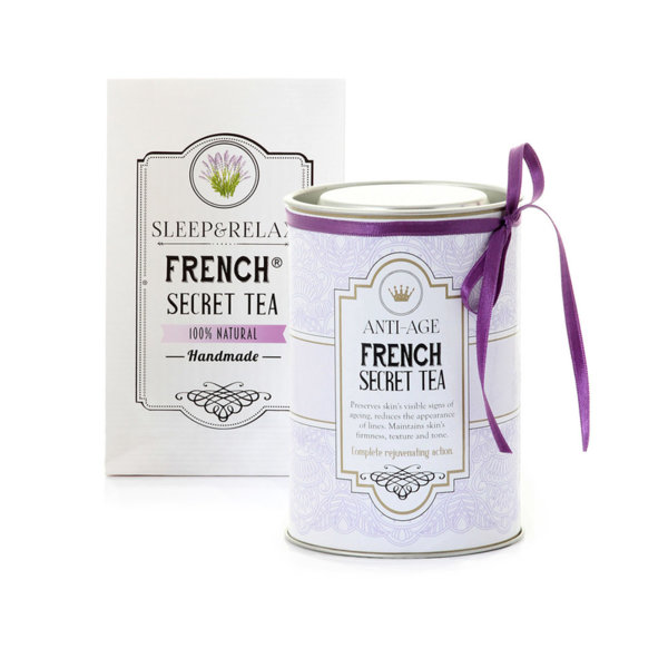 КОМПЛЕКТ FRENCH SECRET TEA ANTI AGE + SLEEP & RELAX