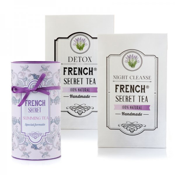FRENCH SECRET TEA 28-ДНЕВНА ПРОГРАМА ДЕТОКС
