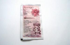 Розова вода за пиене сашета