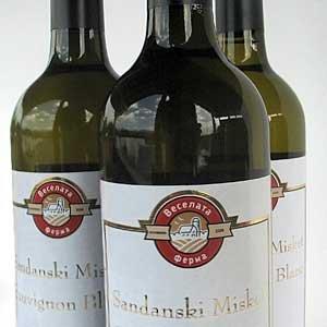 бяло вино Реколта 2013