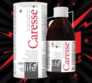 Карес (Caresse) – удължава естествената младост на организма.