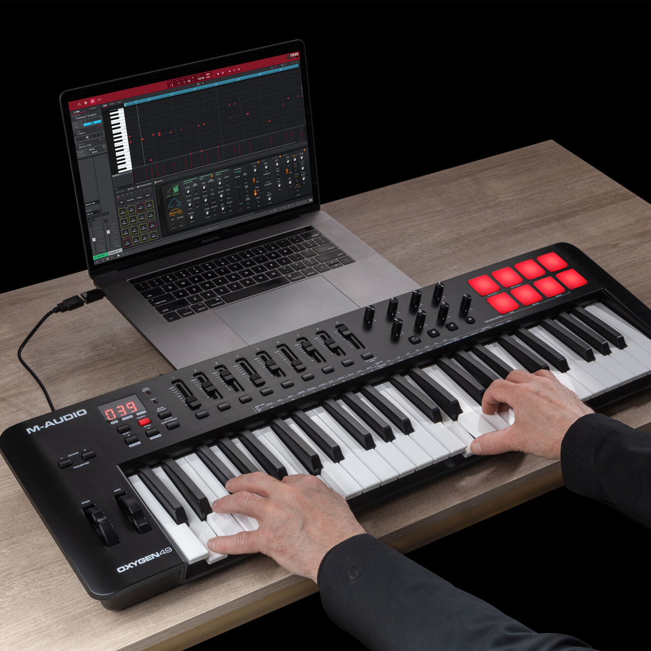 Ново поколение контролери Oxygen от M-Audio - Oxygen MKV