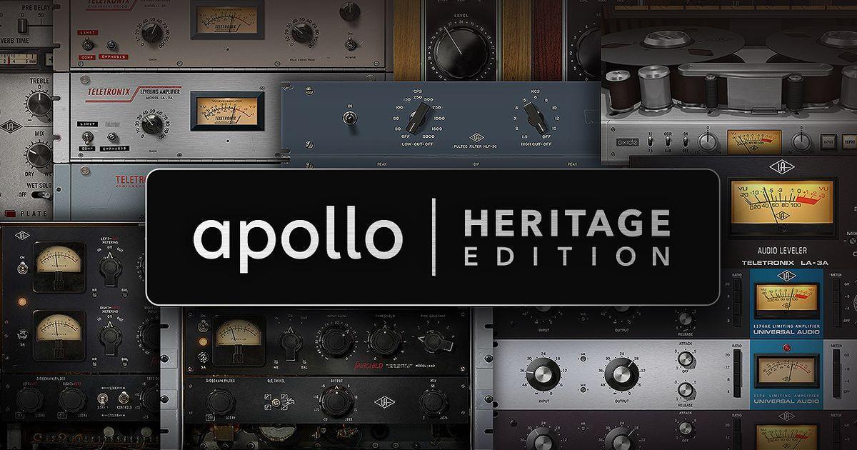 Интерфейс UA Apollo Heritage Edition – защо да  го избрем?