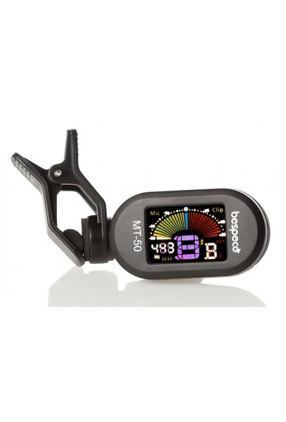 Bespeco MT50 Clip Tuner for guitar, bass, violin and ukulele