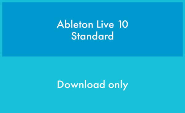 Ableton Live 10 Standard EDU (Latest educational version)