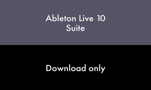 Ableton Live 10 Suite EDU (Latest educational version)