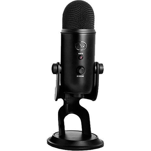 BLUE Yeti Blackout Studio USB Microphone