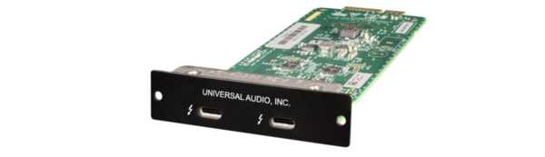 Universal Audio Thunderbolt 3 Option Card