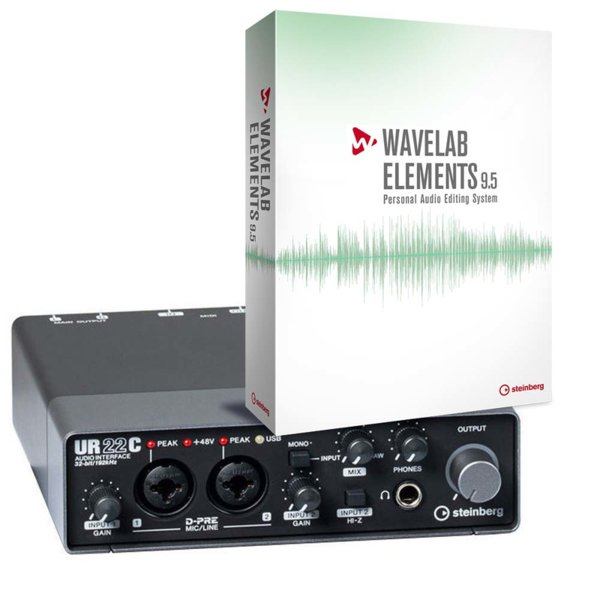 Steinberg UR22C + Steinberg Wavelab Elements Bundle