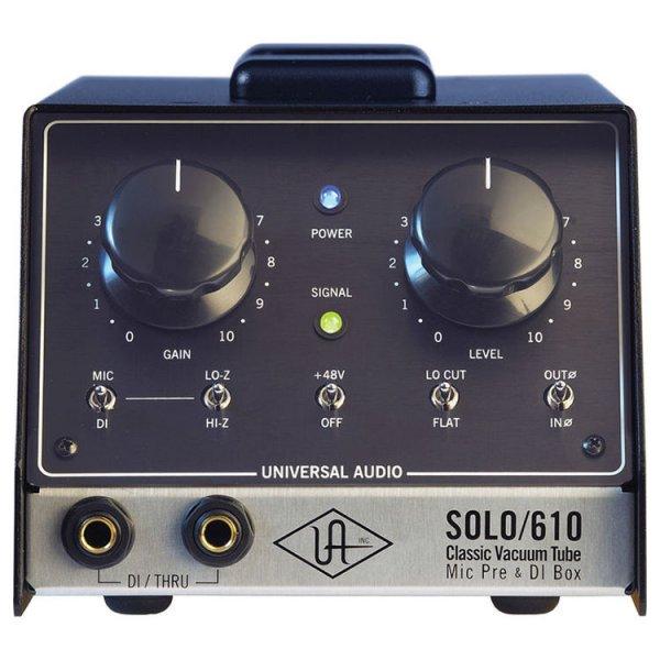 Universal Audio SOLO/610 - Classic Tube Preamplifier and DI BOX