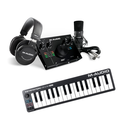 M-Audio AIR 192|4 Vocal Studio Pro + Keystation Mini 32 MKIII Bundle