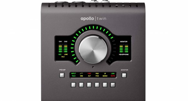 Universal Audio Apollo Twin Quad MKII Thunderbolt