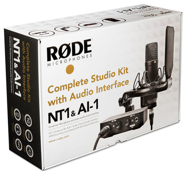 RODE NT1+AI Bundle