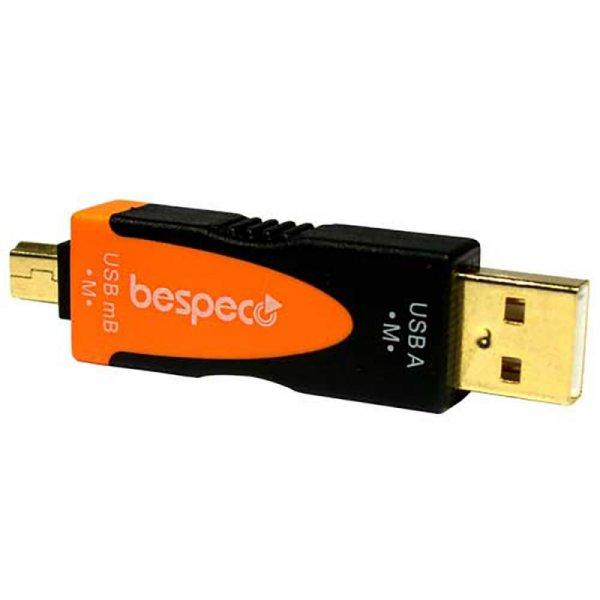 Bespeco SLAD630 - USB B Micro Male - USB A male