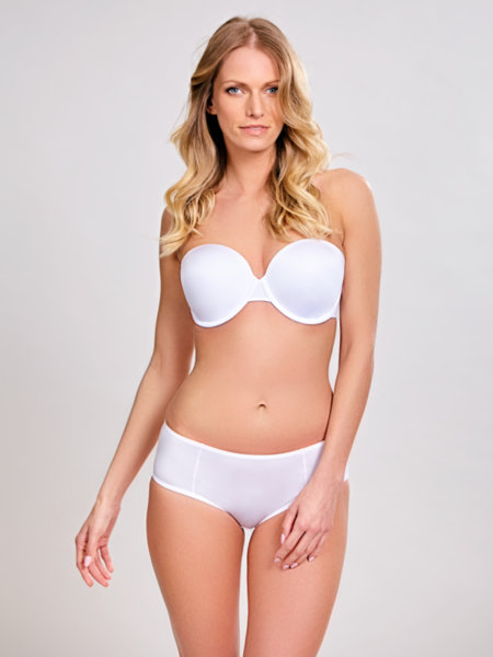 24/7* Сутиен Porcelain Elan Strapless White -7320