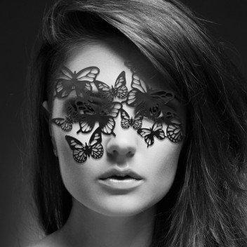 """Маска за лице """"SYBILLE"""" -Black -0187"""