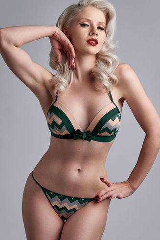 "Сутиен Marlies Dekkers ""Courage"" Dark Blue- 19572"