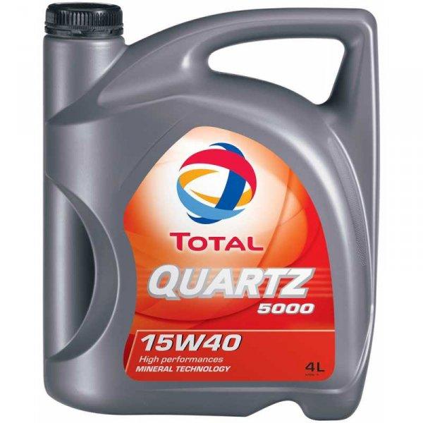 TOTAL Quartz 5000 15W40 4L