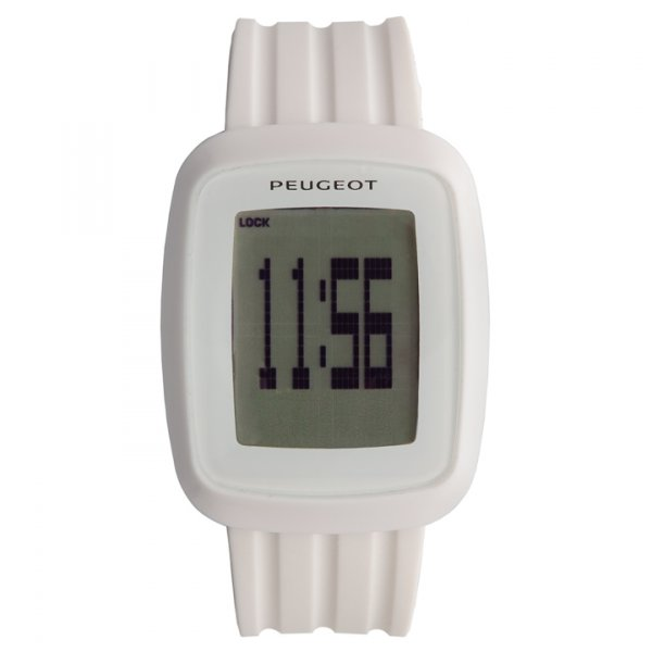 Часовник Бял Tactile Peugeot Blanche