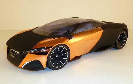 Количка Concept Car Onyx 1/18