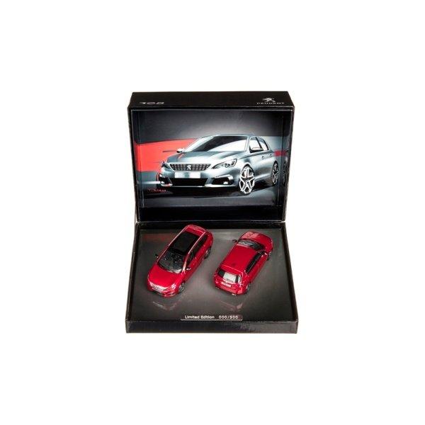 Количка 308 GT 2 бр К-кт Червена