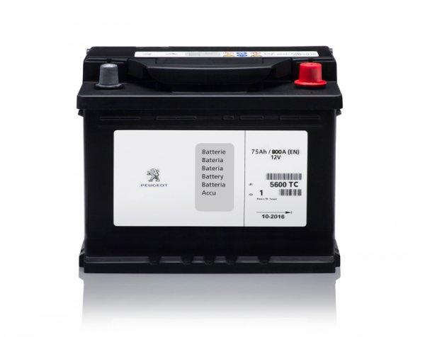 Акумулатор с висок пусков ток 75Ah 800A L3D