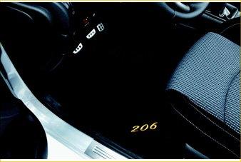 Мокетени Стелки – 206 3D (релефни)