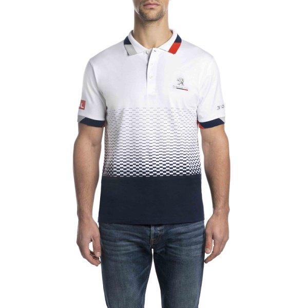 Тениска С Яка 3008 DKR Макси, Мъжка