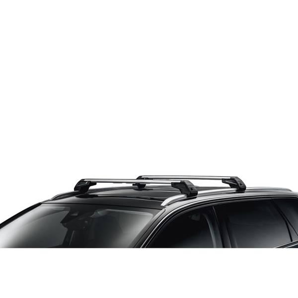 Напречни релси – багажник 2 бр к-кт -  5008 New (P87) (след 2017) м-л с надлъжни лайстни/рейки таван
