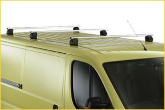 Напречни релси – багажник 3 бр к-кт, алуминиеви –  Boxer 3 H1