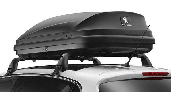 Твърд куфар-къс за багажник за покрива- 330 л