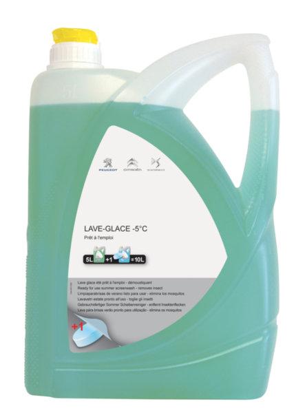 Течност за чистачки готова за експлоатация – Лятна - 5 L /Крушов цвят/