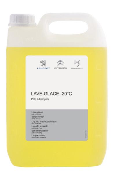 Течност за чистачки – Зимна, готова за експлоатация, аромат Лимон, за до - 20 градуса 5 L