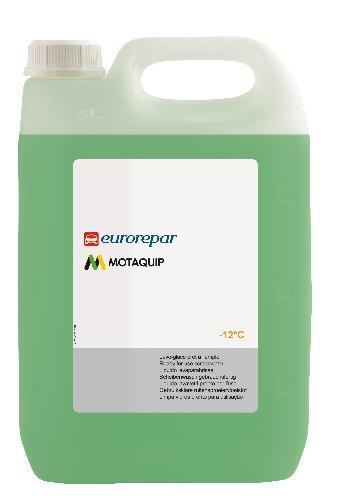 Течност чистачки Eurorepar, готова за експлоатация, за до - 12 градуса - 5 L
