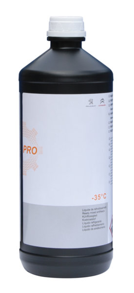 Антифриз  - 35 градуса, Розов - Peugeot 107, 108 - 1 L