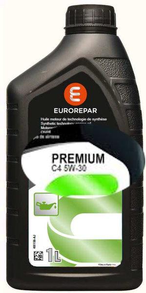 Моторно масло Eurorepar Premium C4 5W30 - 1L