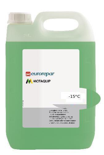 Течност чистачки Eurorepar, готова за експлоатация, за до - 15 градуса - 5 L