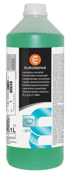 Течност чистачки Eurorepar, концентрат, аромат Ябълка, за до - 30 градуса - 1 L