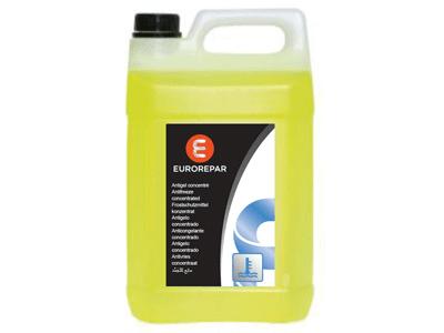 Антифриз - жълт, универсален -70  градуса, концентрат, 2 L Eurorepar