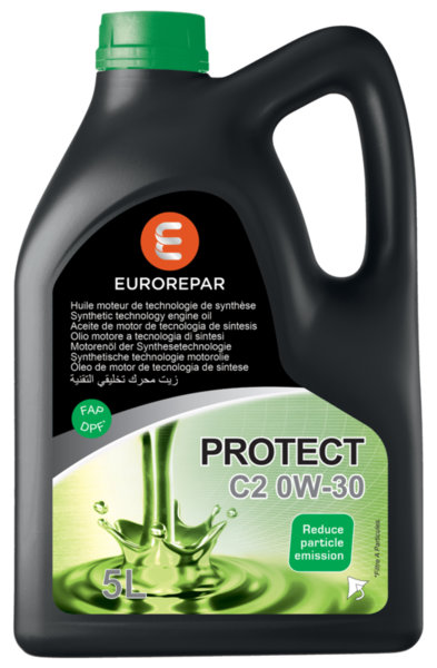 Моторно масло Eurorepar Protect C2 0W30 - 5L