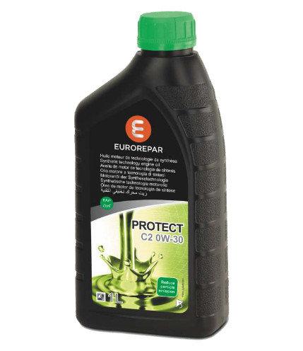 Моторно масло Eurorepar Protect C2 0W30 - 1 L
