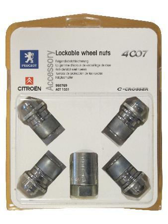 К-кт Секретни Болтове за Алуминиеви джанти, за 21 mm Плоски Болтове