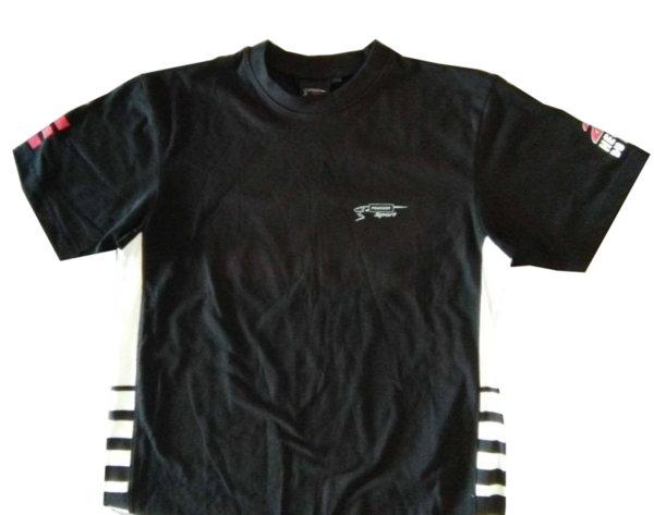Тениска с Къс Ръкав, Мъжка, Черна, Peugeot, 24H DU MANS