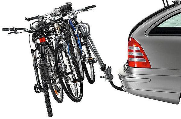Багажник за 3 бр. Велосипеди към Теглич, Наклоняем, HangOn 972 THULE