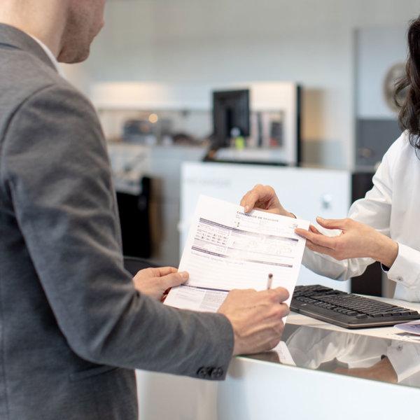 Удостоверение за регулярна техническа поддръжка за автомобили Peugeot
